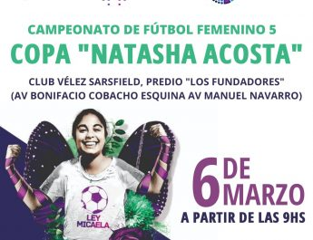 "DIPUTADOS PREPARA EL CAMPEONATO DE FUTBOL FEMENINO ""NATASHA ACOSTA"""