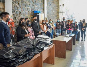 DIPUTADOS CONTINÚA REVALORIZANDO EL TRABAJO DE LOS Y LAS AGENTES